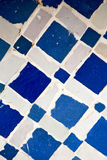 Line in morocco africa old tile and colorated floor ceramic abst Royalty Free Stock Photo