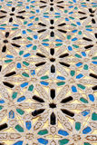 Line in morocco africa old tile and colorated floor ceramic abst Royalty Free Stock Images