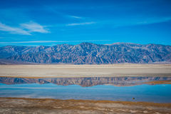 Line of Mountains Reflected. Stock Photography