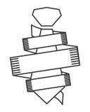 Line necktie icon Stock Photo