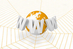 On-line network Stock Photography