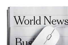 On-line nyheterna Arkivfoton