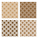 Line octagon tile seamless background Stock Photos