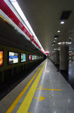 Line One Beijing Subway Traffic Royalty Free Stock Image