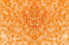 Line orange abstract dynamic creative power. Background Royalty Free Stock Image