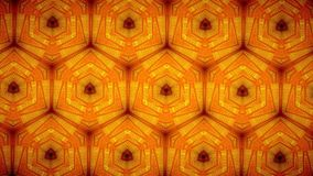 Line orange color pattern wallpaper Stock Image