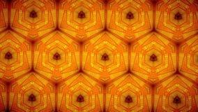 Line orange color pattern wallpaper Stock Image