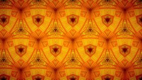 Line orange color pattern wallpaper Royalty Free Stock Photography