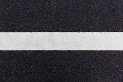 Line painted on the road Stock Photography
