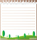 Line paper design. CAN BE USED BY MANY COMPANIES Royalty Free Stock Photos