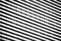 Line pattern of Architecture geometric. Details of building. Modern wall. Polygonal structure. Black and white of Abstract. Line pattern of Architecture stock image
