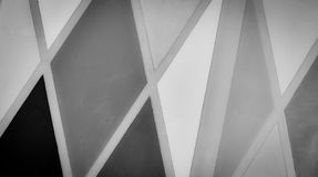 Line pattern edge. In Monochrome Stock Image