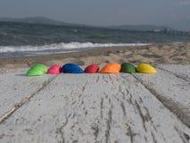 Line pattern of seashells Stock Images
