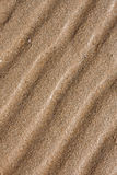 Line patterns in sand Stock Image