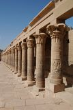 Line of pillars Royalty Free Stock Images