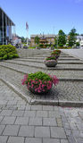 Line of Planters Royalty Free Stock Image