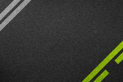 Line racing background texture. Of rough asphalt Royalty Free Stock Images