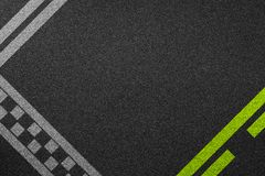 Line racing background texture. Of rough asphalt Stock Photography