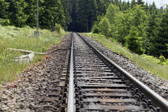 Line of rails Royalty Free Stock Image