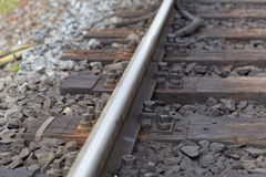 Line of rails Stock Images