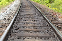 Line of rails Royalty Free Stock Photography