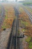 Line of railway Stock Photos