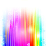 Line Rainbow colorful background Stock Photo