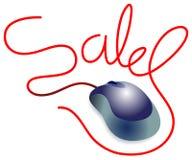 On line sales stock illustration
