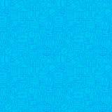 Line Science Education Blue Tile Pattern Stock Photo
