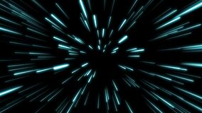 Free Line Shape Neon Blue And Red Light Dark Streaks Simple.Cyber Futuristic Speed Zoom Motion Graphic.Backdrop Beam Blur Flare. Royalty Free Stock Image - 180069676