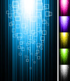 Line shine vertical background Royalty Free Stock Photos