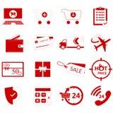 On-line-Shop Ikone Stockfoto