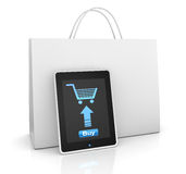 On line shopping Stock Photography