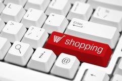 On-line Shopping Stock Image
