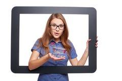 On-line shoppingbegrepp Fotografering för Bildbyråer
