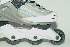 In-line skate. The front part of the in-line skate Stock Image