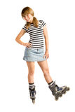 In-line skating Stock Images