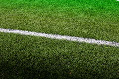 Line soccer field Royalty Free Stock Photo