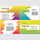 Line Speed Color Info Graphic Modern Vector Royalty Free Stock Image
