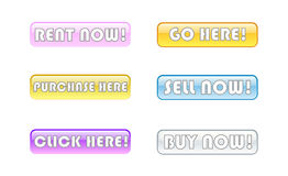 On-line store bars Royalty Free Stock Photography
