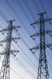 line strömöverföringen Fotografering för Bildbyråer