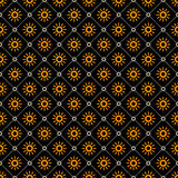 Line sun shapes seamless pattern Royalty Free Stock Photography