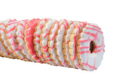 Line Tasty Cake Stock Image