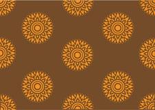 Line thai art pattern Stock Photography