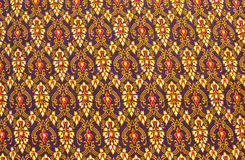 Line thai is the art of pattern in thai style Stock Images