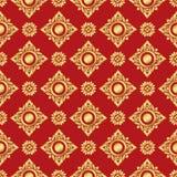 Thai art pattern vector Royalty Free Stock Image