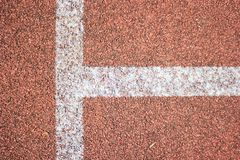 Line and track ground Royalty Free Stock Photos