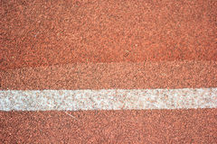 Line and track ground Royalty Free Stock Images