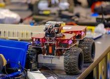 Line tracking stem ev3 robot Stock Image