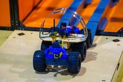 Line tracking stem ev3 robot Stock Images